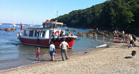 Pictures from The Cawsand Ferry